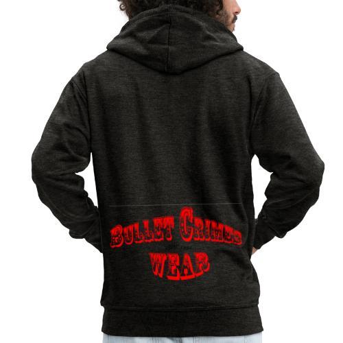 Bulletcrimeslogo2 - Chaqueta con capucha premium hombre