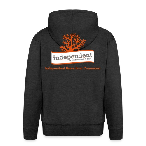 Independent Beers from Conamara - Men's Premium Hooded Jacket