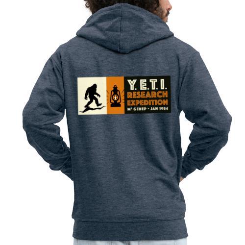 A la recherche du Yeti - Veste à capuche Premium Homme