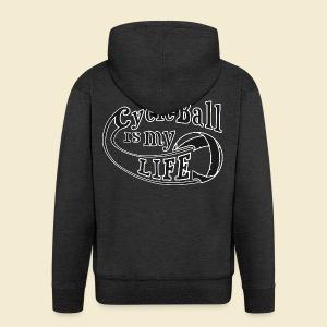 Radball | Cycle Ball is my Life - Männer Premium Kapuzenjacke