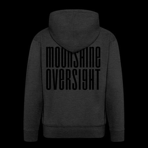 Moonshine Oversight noir - Veste à capuche Premium Homme