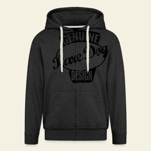 raredogdesign black - Herre premium hættejakke