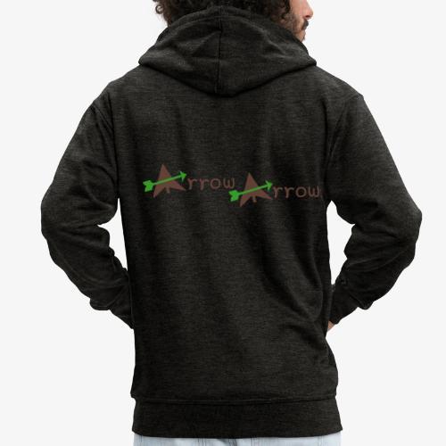 arrow arrow patjila - Men's Premium Hooded Jacket