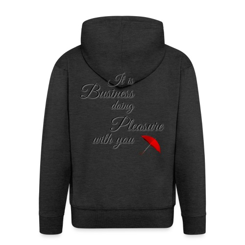 Pleasure - Men's Premium Hooded Jacket