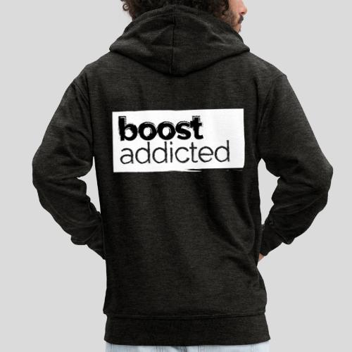 BoostApparel Design - Boost Addicted - Männer Premium Kapuzenjacke