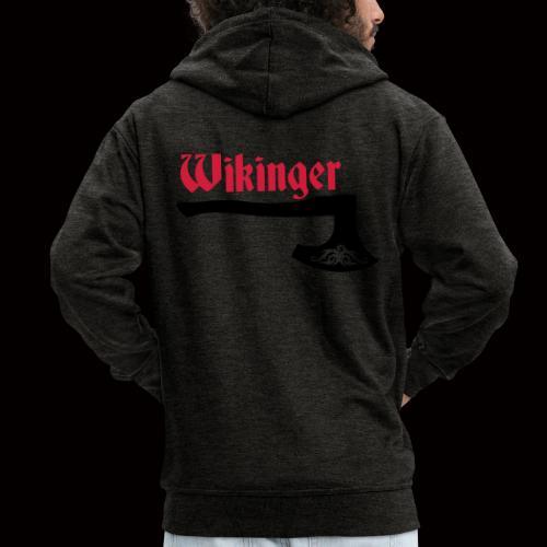 Wikinger-Axt - Männer Premium Kapuzenjacke