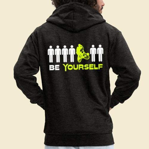 Radball | Be Yourself - Männer Premium Kapuzenjacke