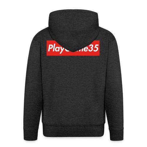 PlayGame35 - Felpa con zip Premium da uomo