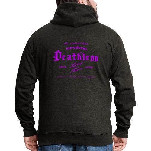 deathless living team violet - Männer Premium Kapuzenjacke