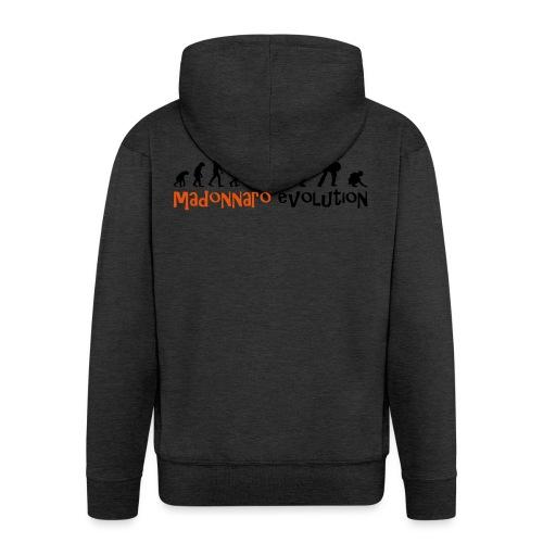 madonnaro evolution original - Men's Premium Hooded Jacket