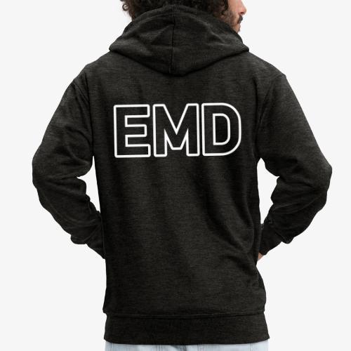 EMD_140%_Vektor_Outline_w - Männer Premium Kapuzenjacke