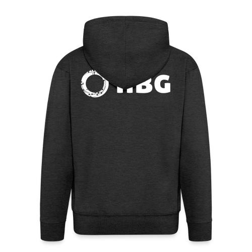 NBG Logo Icon - Männer Premium Kapuzenjacke