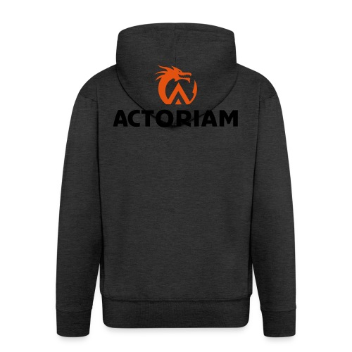 Actoriam Logo - Men's Premium Hooded Jacket
