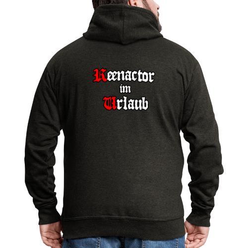 Reenactor im Urlaub - Männer Premium Kapuzenjacke