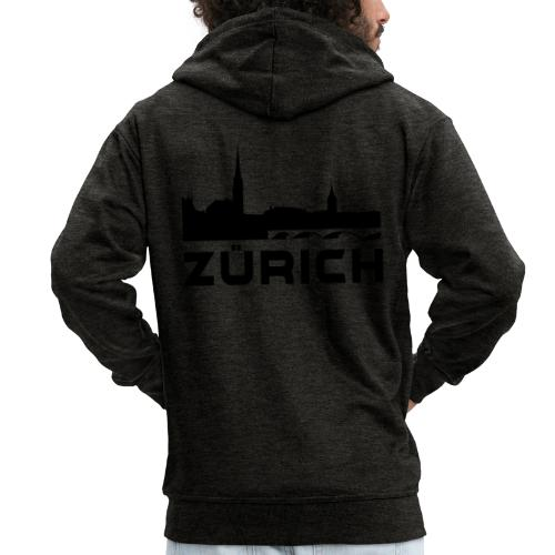 Zürich - Männer Premium Kapuzenjacke