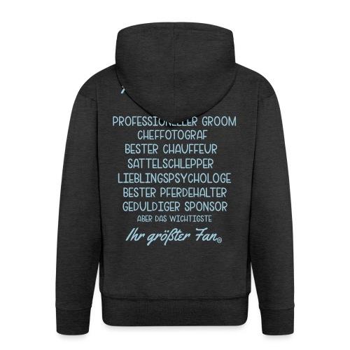 Horsey Papa - Reitturnier - Männer Premium Kapuzenjacke