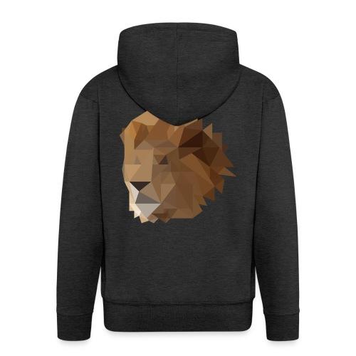 Löwe - Männer Premium Kapuzenjacke