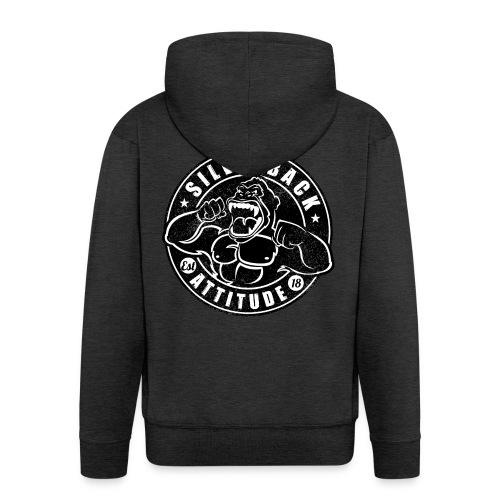 Silverback Attitude - Männer Premium Kapuzenjacke