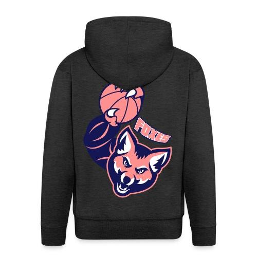 Foxes basketball - Veste à capuche Premium Homme