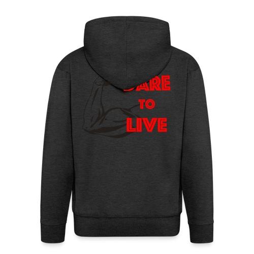 Dare2Live - Mannenjack Premium met capuchon