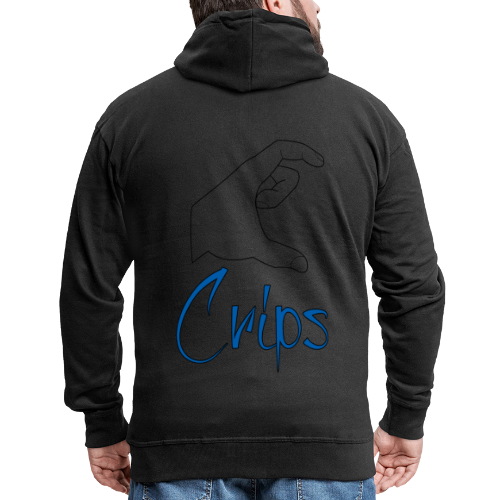 Crips - Veste à capuche Premium Homme