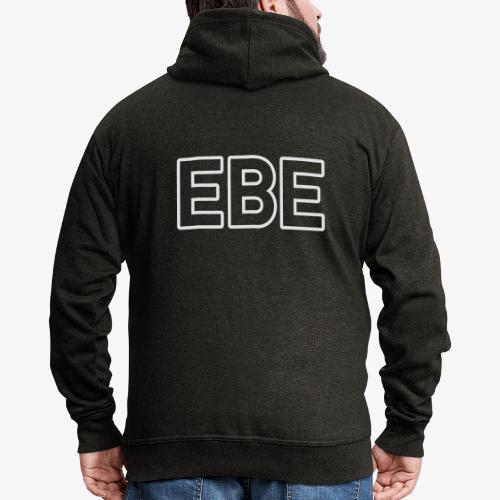 EBE_140%_Vektor_Outline_W - Männer Premium Kapuzenjacke