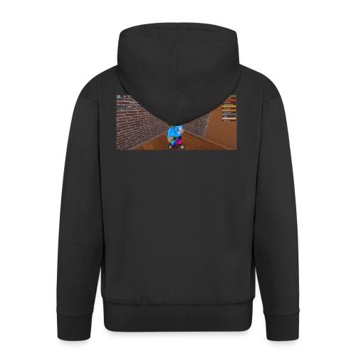 panda time - Men's Premium Hooded Jacket