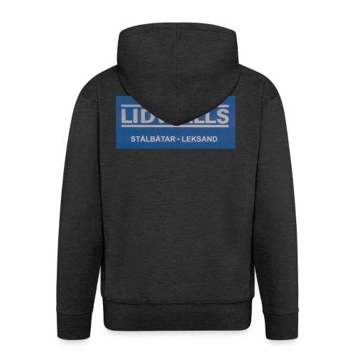 Lidwalls Stålbåtar - Premium-Luvjacka herr
