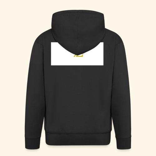 zaffer - Felpa con zip Premium da uomo