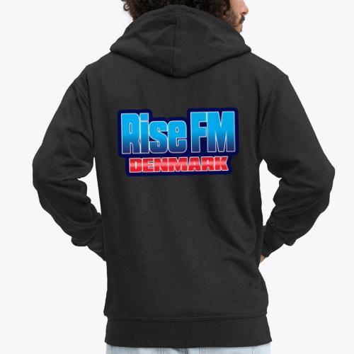 Rise FM Denmark Text Only Logo - Herre premium hættejakke