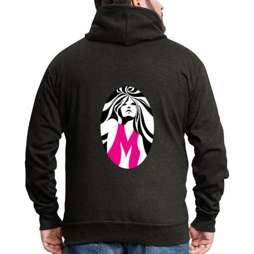 Mélody logo - Veste à capuche Premium Homme