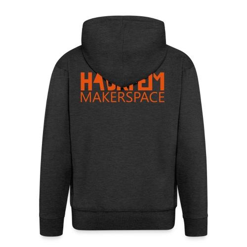 Hackheim Makerspace - Premium Hettejakke for menn