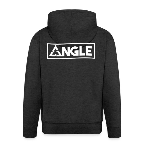 Angle Brand - Felpa con zip Premium da uomo