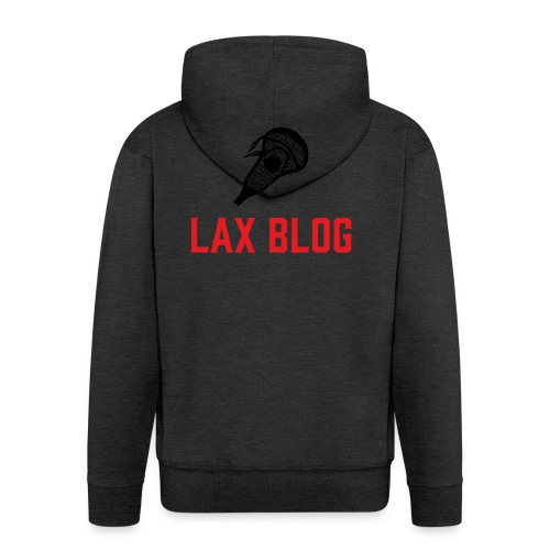 LaxBlog - Men's Premium Hooded Jacket