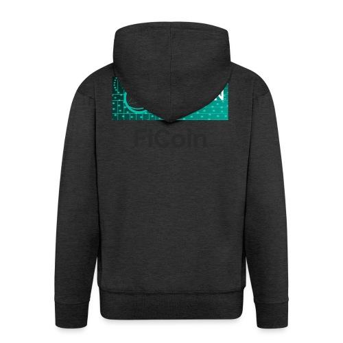 GameOn Dark Tekst - Mannenjack Premium met capuchon