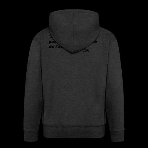 380 noir - Veste à capuche Premium Homme