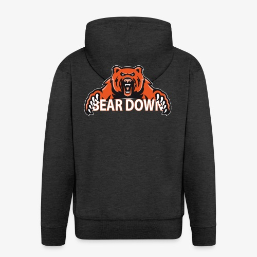 Bear down - Männer Premium Kapuzenjacke