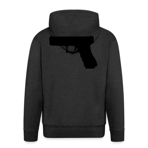 The Glock 2.0 - Men's Premium Hooded Jacket