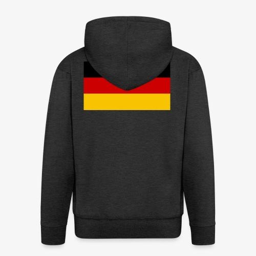 deutscheflagge001 1366x768 - Männer Premium Kapuzenjacke