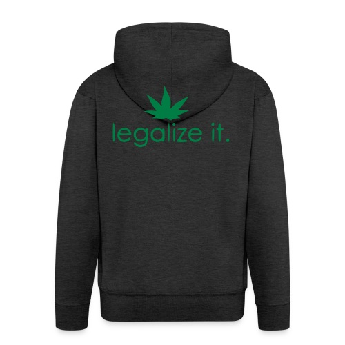 LEGALIZE IT! - Men's Premium Hooded Jacket