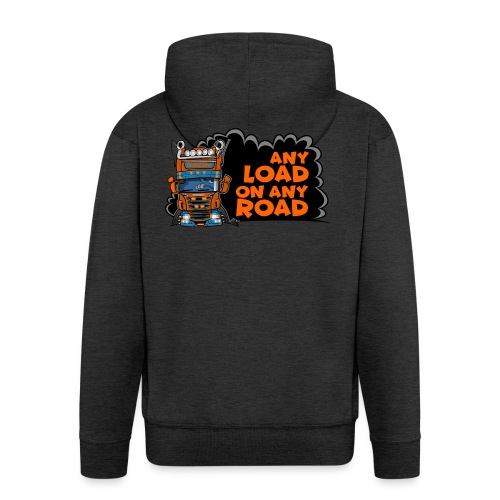 0323 any load on any road - Mannenjack Premium met capuchon