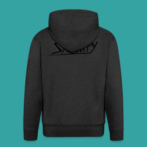 Syranity Blue Shirt Black Pressing (Boys) - Men's Premium Hooded Jacket