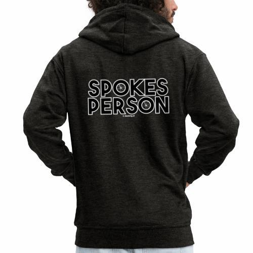 Spokes Person - Mannenjack Premium met capuchon
