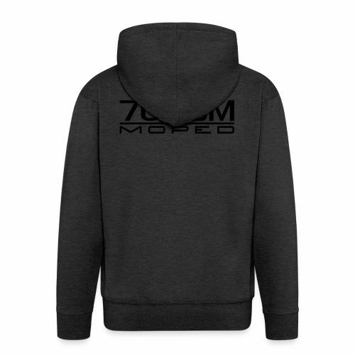 70 ccm Moped Emblem - Men's Premium Hooded Jacket