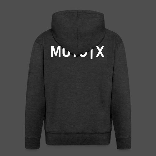 moto x - Männer Premium Kapuzenjacke