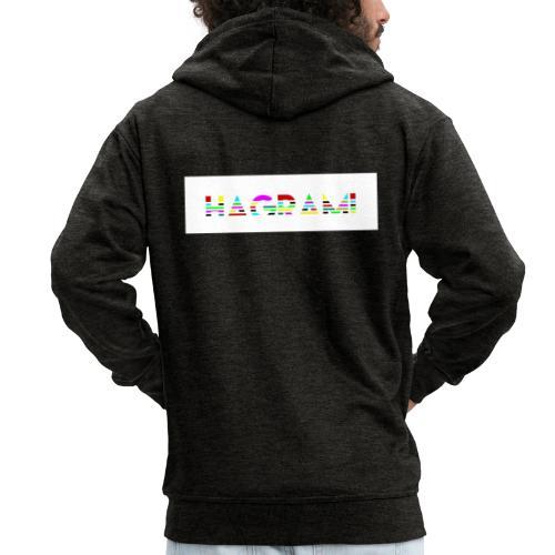 BANER NEW - Rozpinana bluza męska z kapturem Premium