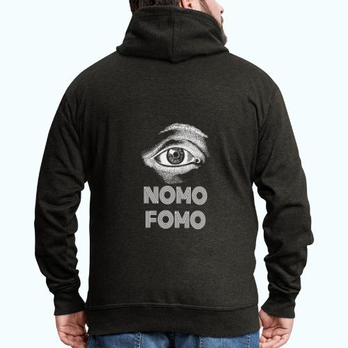 NOMO FOMO - Men's Premium Hooded Jacket