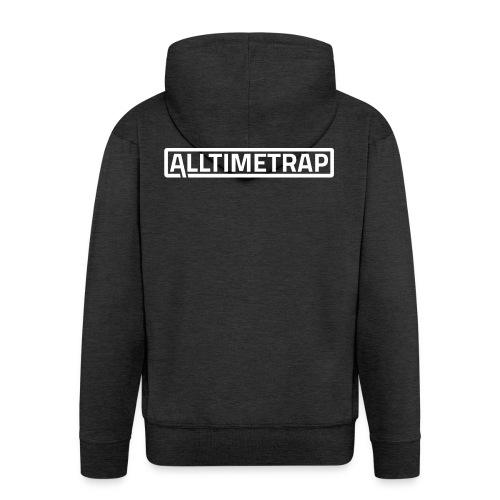 AllTimeTrap organic t-shirt. - Men's Premium Hooded Jacket