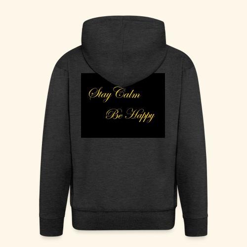 Be Happy - Veste à capuche Premium Homme