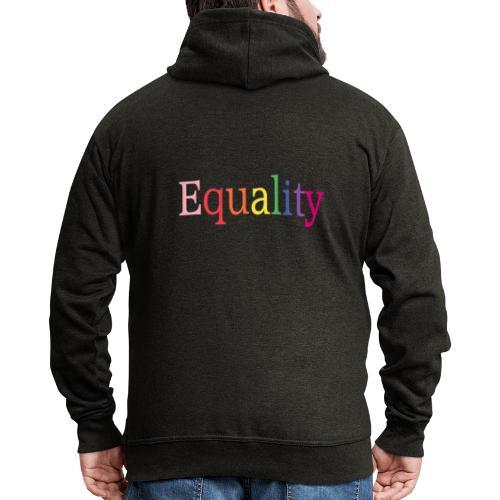Equality | Regenbogen | LGBT | Proud - Männer Premium Kapuzenjacke